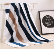 "100% Cotton Oversized Large Beach Towel,Pool Towel (35""x70"" )—Soft, Quick Dry, Lightweight, Absorbent, and Plush"