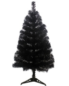 PeiGee 0.6m/60cm PVC Artificial 7 Colours Christmas Tree Stand Indoor Xmas Decoration Easy Fold Branch