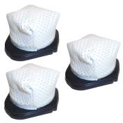 Ximoon 3 Washable Dust Cup Filter for Shark XSB726N Hand Vac Models SV736, SV748, SV738, SV719, SV70, SV90, SV728 and SV726