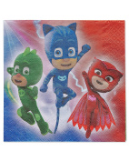 American Greetings PJ Masks Lunch Napkins
