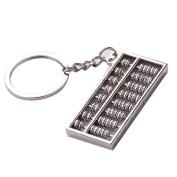 Key Pendant Doinshop Metal Keyring Adjustable Abacus /Wrench Spanner