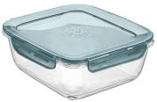 Bormioli Rocco 389112MH2321990 Evolution Food Storage, 1400ml, Grey