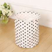 Foldable Laundry Basket, Waterproof Folding Large Storage Bag Bucket Organiser Pop-up Laundry Hampers with Handles for Dirty Clothes Baby's Toys