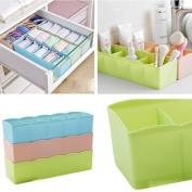 Besde Storage Organisation Storage Box Tie Bra Socks Drawer Cosmetic Divider Tidy