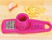 MAZIMARK--Chopped Garlic Crusher Masher Twist Cutter Slicer Presser Kitchen Hand Tool