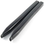 Hobie - Shroud Adj Covers Blk 30cm Pair - 3261B
