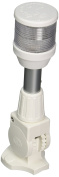 HELLA 303,276,660m2010 Series' White 12V DC 2 NM All-Round Anchor Light with 20cm White Fold Down Pole Mount Base