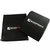 WODFitters Ab Trainer Mat PRO - Abdominal & Core Trainer Mat, Carrying Bag & EGuide - Lower Back Support, Total Ab Workouts For Flat Belly, Waist Trimming & Toning For Men & Women