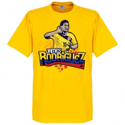 Colombia James Rodriguez Tee - Yellow