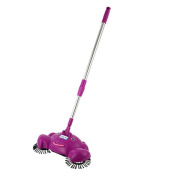 DEESEE(TM) New Arrival 360 Rotary Home Use Crab Manual Telescopic Floor Dust Sweeper