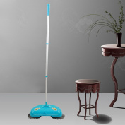 DEESEE(TM) New Arrival 360 Rotary Home Use Magic Manual Telescopic Floor Dust Sweeper