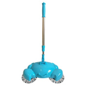 Dust Sweeper Doinshop 360° Rotary Home Use Crab Manual Telescopic Floor Cleaner