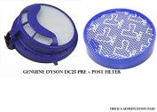 Dyson DC25 Pre+Post set (Pre+Post Filter Bundle) #DY-919171-02 (Pre) and #916188-01
