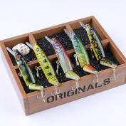 5pcs Lot Swimbaits Jointed Lure Fishing Lures Wobbler Bait Crankbaits Fishing Tackle Swimbait 14cm/21g Baits