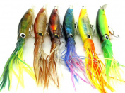 Big Size Fishing Lures 24cm42g Fishing Tackle Squid Lures Fishing Bait