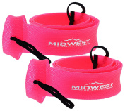 Spinning Fishing Rod Sleeve Rod Sock Cover 2 Pack By Midwest Outfitters