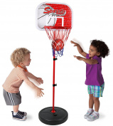 Kiddie Play Basketball Toy Set for Kids Adjustable Height Up To 1.2m