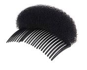 HugeStore 2 Pcs Sponge Hair Volume Bump Up Clip Hair Maker Tool Hair Comb