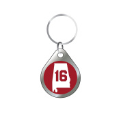 Alabama Crimson Tide Keychain