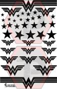 Wonder Woman 7x11 stencil for cerakote, gunkote, duracoat Avery paint mask sticky back vinyl