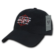 Rapiddominance A03-DRS-BLK Relaxed Graphic Cap, Don't Run, Black