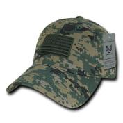Rapiddominance A03-1TSA-MCU Relaxed Graphic Cap, Tonal Flag, MCU, Marines Combat Uniform