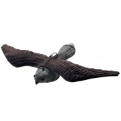 GUGULUZA Hunting Flying Hawk Decoys - Pest Repellent Scarecrow Decoy