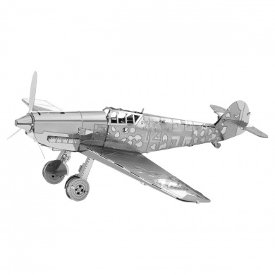 Fascinations Metal Earth Messerschmitt Bf-109 Aeroplane 3D Metal Model Kit