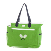 Ame And Lulu Crossed Racquet Court Bag