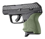 Hogue HandAll BGS Ruger LCP II OD Grn, OD Green,