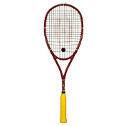 Harrow 65850504 Bancroft Players Special Squash Racquet, Red