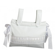 Babyline Ribbon Bread Bag for Chair grey