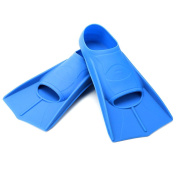 Elemart Swim Training Fins - Short Blade Floating Fins Perfect for Snorkelling, Diving & Swimming