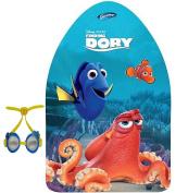 Disney Finding Dory Kickboard and Swim Goggle Set