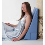 Living Health Products AZ-74-5118-N Convoluted Bed Wedge with Neck Roll44; Navy