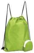 Preferred Nation Folding Drawstring Gym Bag Hiking
