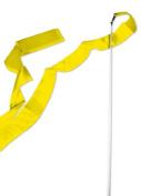 Yellow Gymnastics Ribbon Wand