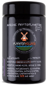 Marine Phytoplankton 240 Capsules | 500mg | 100% Pure | Omega-3 EPA | VIOLET GLASS CONTAINER