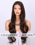 Chantiche Best Blonde Highlight Mixed Brown Lace Front Wigs Long Wavy Synthetic Wig for Black Women Heat Resistant 60cm