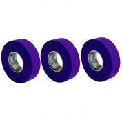 New Renfrew 3 Pack Purple Hockey Stick Blade Shaft Bat TAPE Rolls 24mmx25m