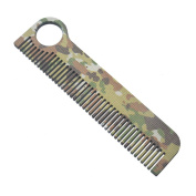 Cocohot Outdoor Titanium Camouflage Comb for Soft Hair