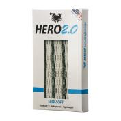 East Coast Dyes ECD Lax Hero2.0 Semi-Soft Lacrosse Mesh HeroMesh 2.0 White