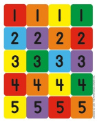 NUMBERS 1-100 ASSORTMENT