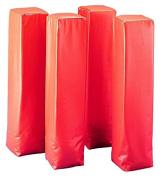 Martin Sports Line & End Zone Pylon Markers, Set of 4