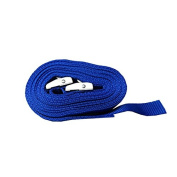 Pair of 25mm x 5 Metre Kayak Cam Straps with Protective Pad – Blue