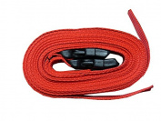Pair of 4 Metre Buckle Straps – Red