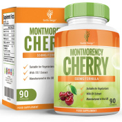 Montmorency Cherry Capsules - High Strength 10:1 Extract - Suitable for Vegetarians - 90 Capsules (3 Month Supply) by Earths Design