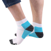 Aptoco Plantar Fasciitis Socks Foot Care Compression Sock Sleeve with Arch & Ankle Support,Boost Stamina, Circulation and Recovery Size L/XL