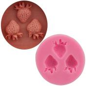 Strawberry Cake Chocolate Mould Diy Silicone Baking Utensils 4Pcs