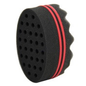 Bluelans® Hair Sponge Brush for Twists, Coils, Curls in Afro-Style Hair
